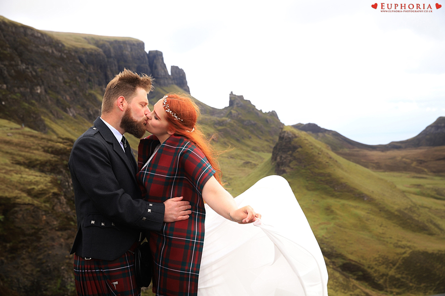 Quiraing Isle of Skye Elopement Wedding Photographer Photo