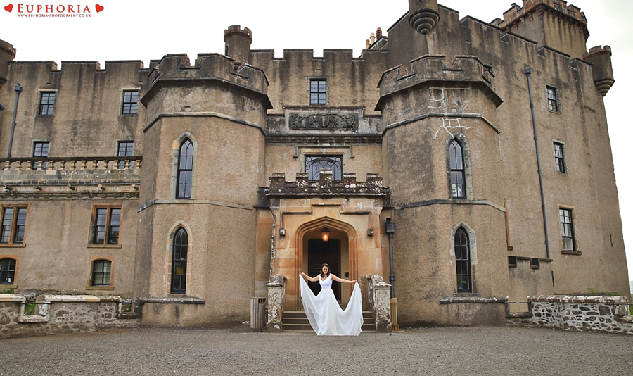 Dunvegan Castle Wedding Photographer Photography Isle Of Skye Wedding Photo